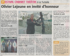 article echo presquile 15 aout 2014